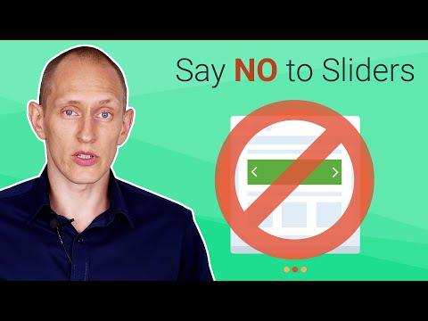 Got a Homepage Slider? Get Rid of It!