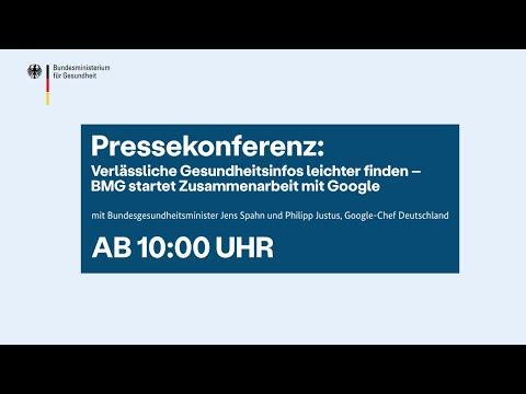 Pressekonferenz: BMG startet Zusammenarbeit mit Google