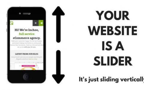 Webdesign: Homepage Slider sind out - weg damit!